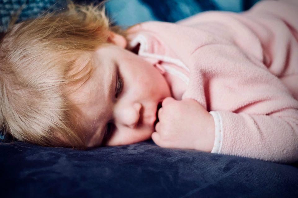 Baby girl trouble sleeping